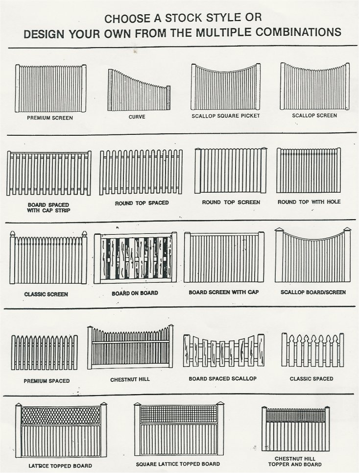 6x8 Wood Fence Panels WB Designs - 6x8 Wood Fence Panels WB Designs