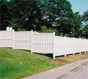 Vinyl Privacy Fences, 4, 5, 6 ft High. 6 ft  8 ft Wide